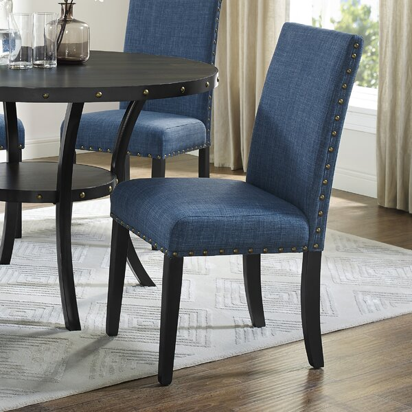 Cotton Upholstered Dining Chair (Set Of 2) By Darby Home Co