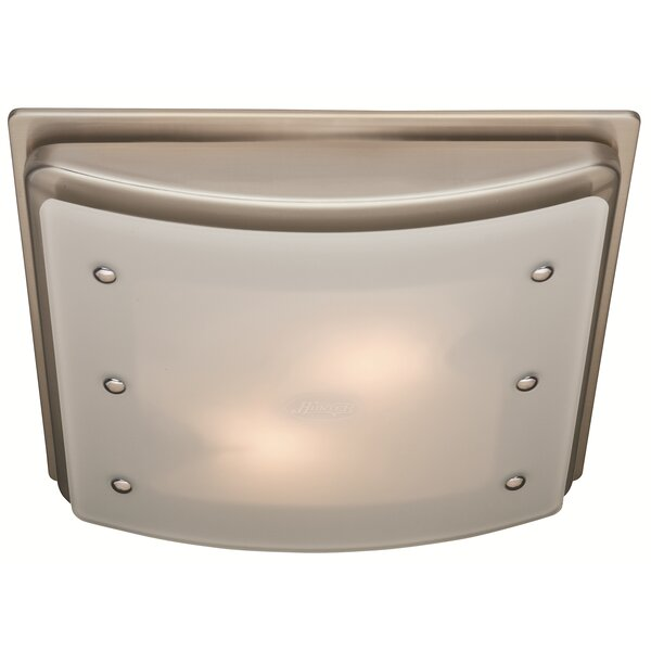 Ellipse 100 CFM Bathroom Fan with Light and Night-light by Hunter Home Comfort