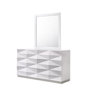 Baldree Rectangular Dresser Mirror