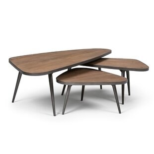 Aubrey 3 Piece Coffee Table Set (Set of 3)