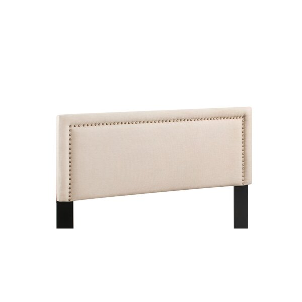 Sather Upholstered Panel Headboard by Charlton Home