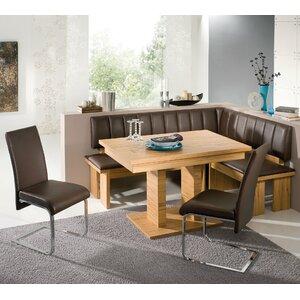 Eckbankgruppe Falco mit 2 Stühlen von Schösswender