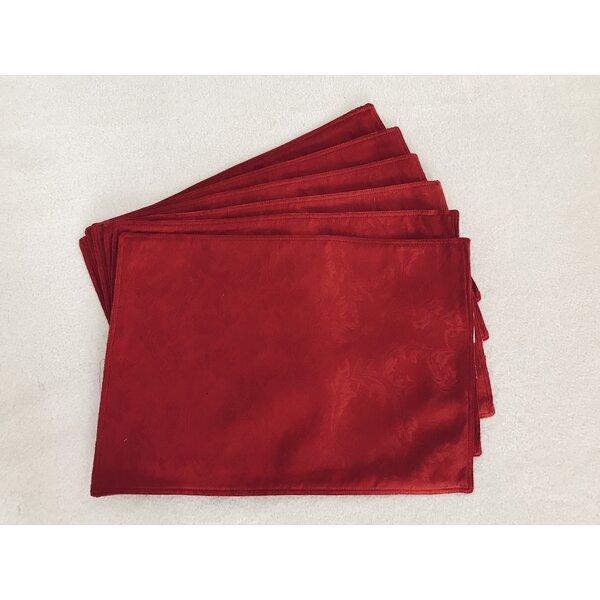 Jacquard Placemat (Set of 6) by Textiles Plus Inc.