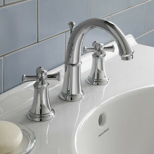 Reviews Portsmouth Widespread Bathroom Faucet with Double Cross Handles By American Standard