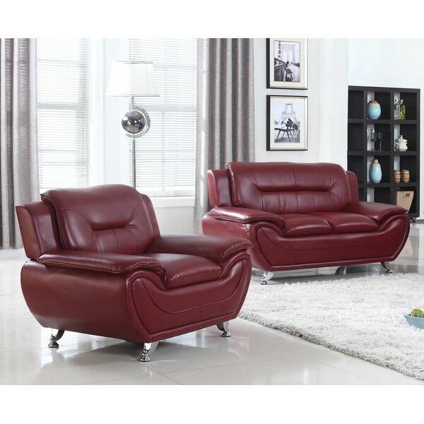 Macaire 2 Piece Living Room Set by Orren Ellis