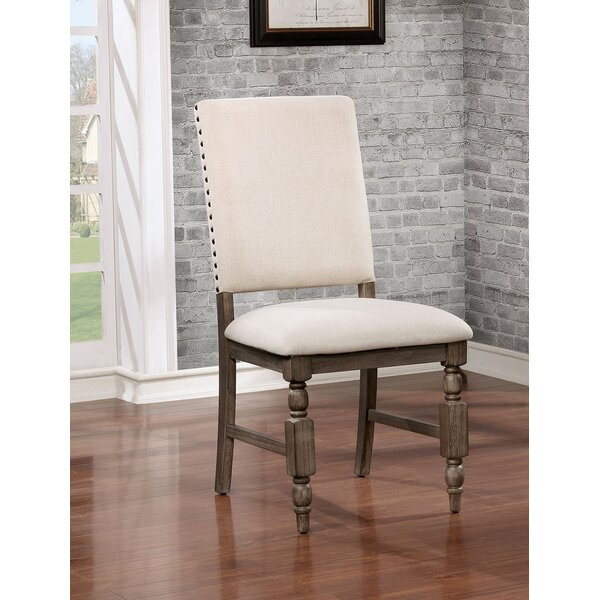 Donna Upholstered Dining Chair (Set of 2) by One Allium Way