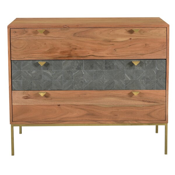 Coweta 3 Drawer Dresser by Foundry Select
