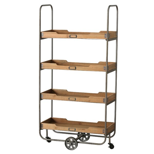 Tyler Pipe Etagere Bookcase by 17 Stories