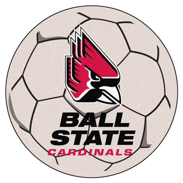 NCAA Ball State University Soccer Ball by FANMATS