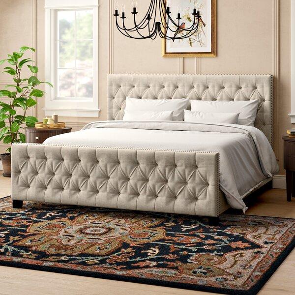 Allison Upholstered Platform Bed By Three Posts