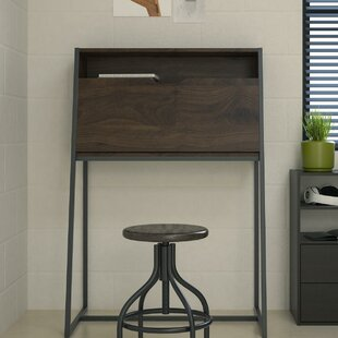Great Price Arian Secretary Desk By Wrought Studio
