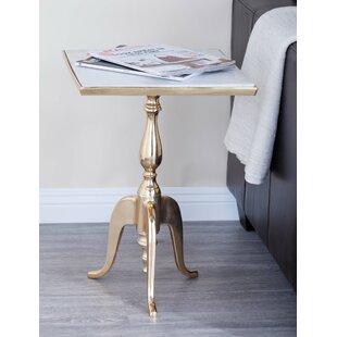 Gold Marble Accent Table Wayfair - Wayfair gold end table