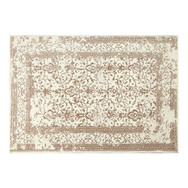 Irena Chenille Ivory/Linen/Copper Area Rug by Chesapeake Merchandising Inc.