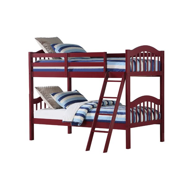 Dubbo Twin Over Twin Bunk Bed by Harriet Bee