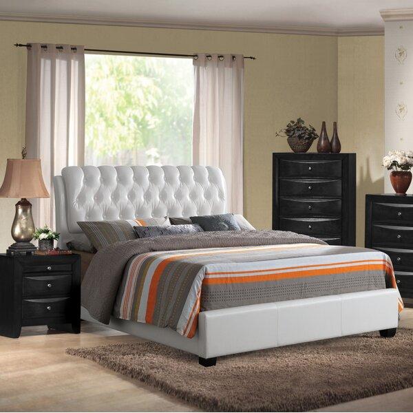 Weidman Upholstered Standard Bed by Red Barrel Studio