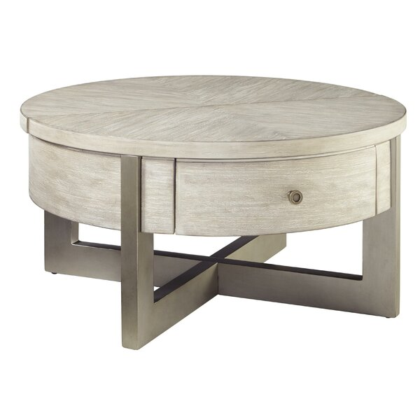 Hachi Lift Top Extendable Cross Legs Coffee Table With Storage By Latitude Run