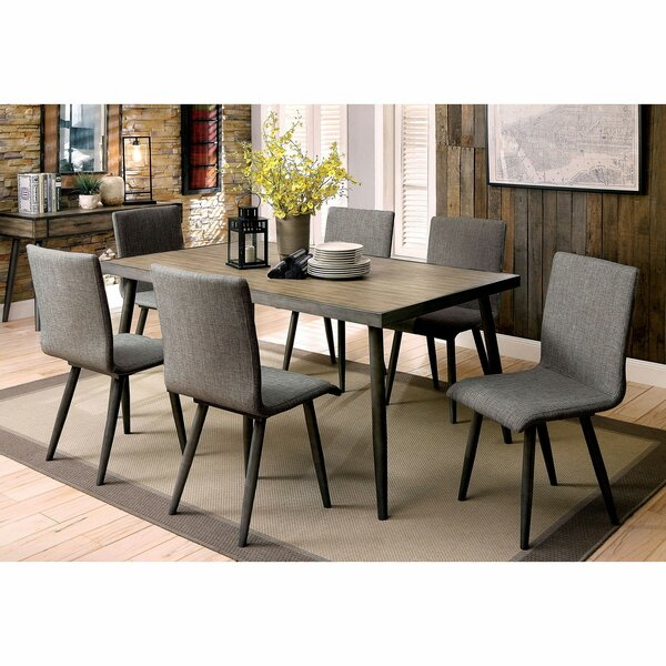 Straw 7 Piece Dining Set by Brayden Studio