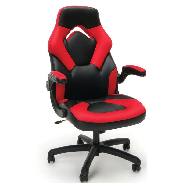 Mccrae Racing Executive Chair by Ebern Designs