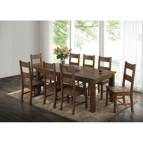 America 9 Piece Dining Set By Mistana Top Reviews