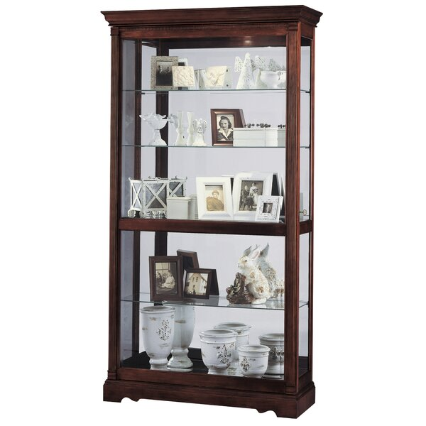 Brien Curio Cabinet by Darby Home Co
