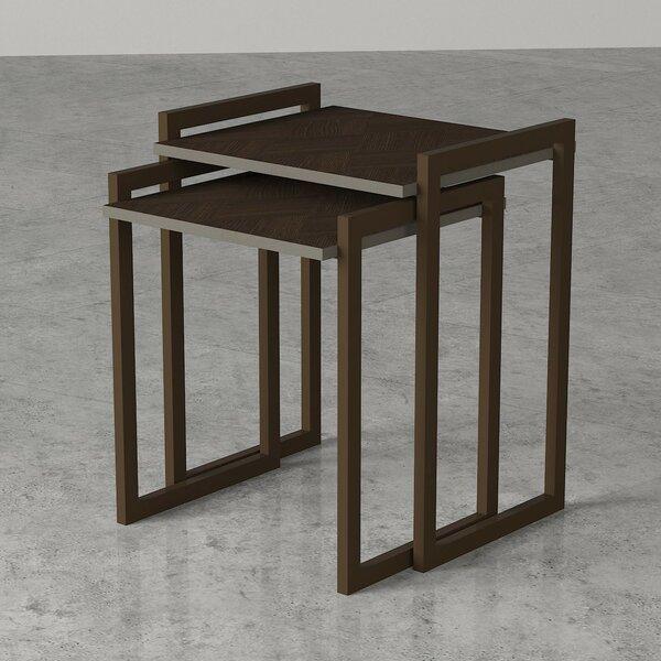 Vejle Sled Nesting Tables By Brayden Studio