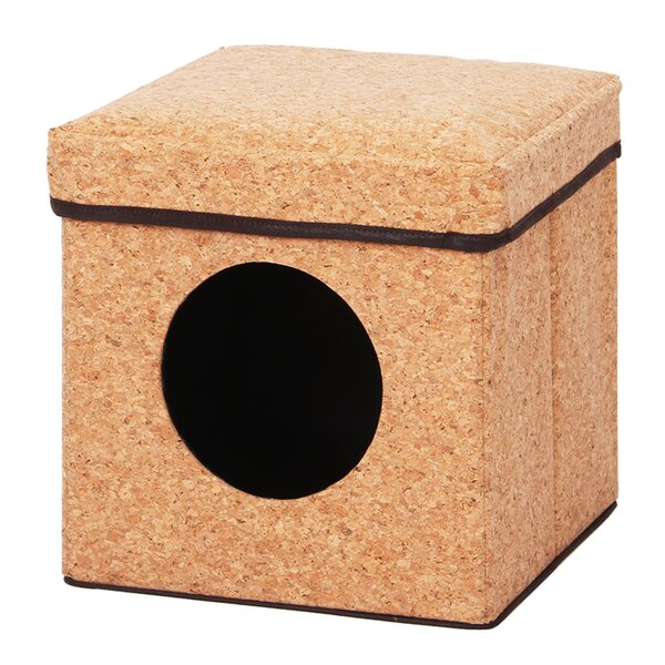 Lindquist Cube Dual Condo and Perch Hooded/Dome by Tucker Murphy Pet