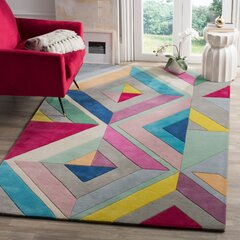 Geometric Pink Area Rugs You Ll Love In 2021 Wayfair