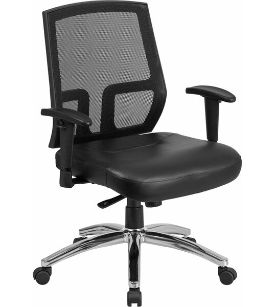 Kucera Mid-Back Ergonomic Mesh Office Chair by Symple Stuff