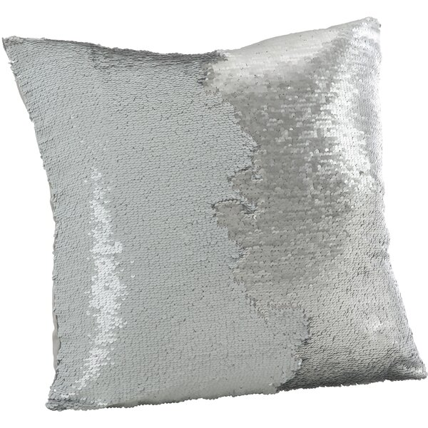 Alandra Sequin Mermaid Throw Pillow by Everly Quinn