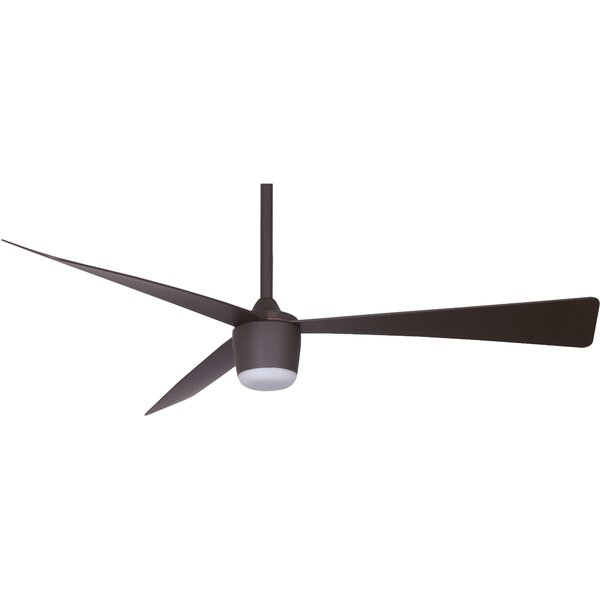 52 Henking 3 Blade LED Ceiling Fan with Remote by Ivy Bronx