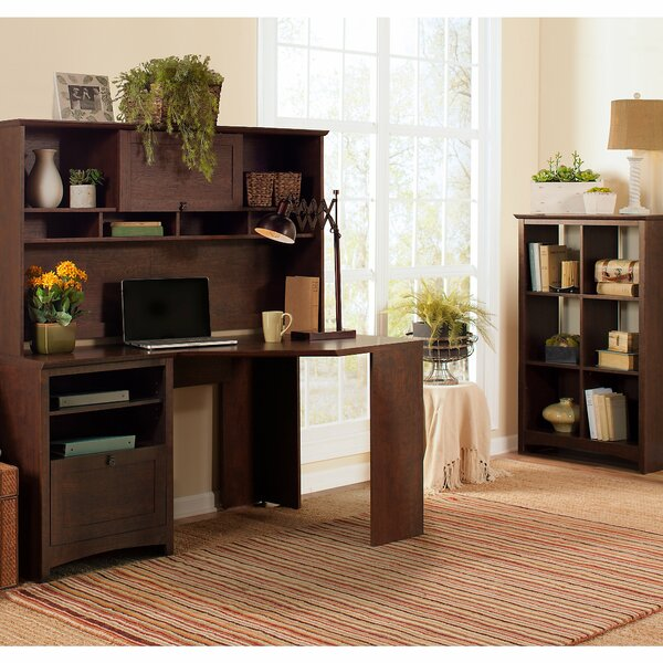 Fralick 3 Piece Cherry Desk Office Suite by Darby Home Co