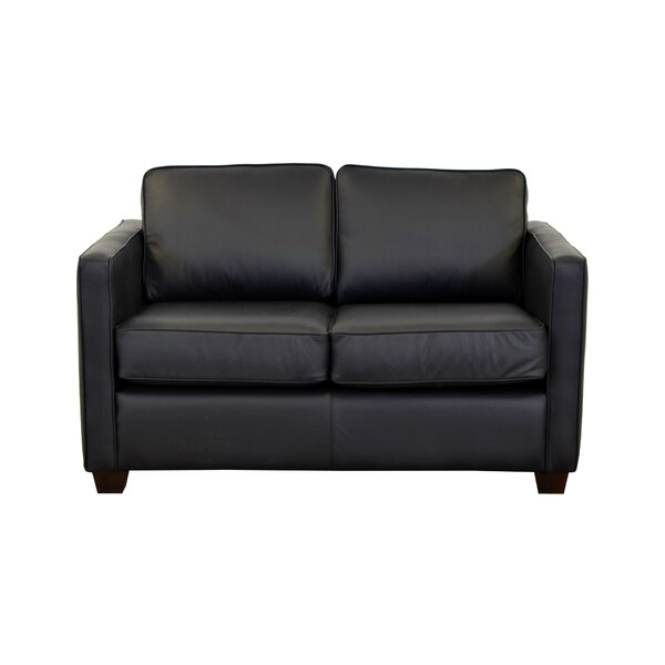 Review Salisbury Leather Loveseat