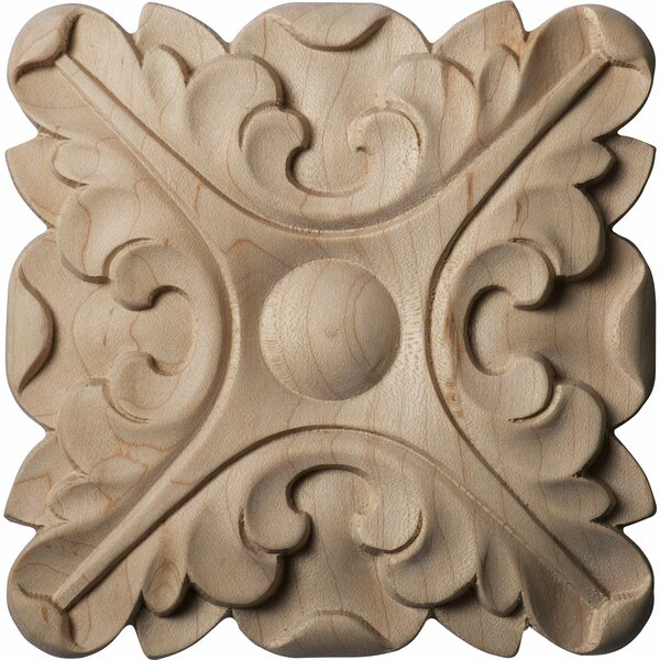 Acanthus 5H x 5W x 3/4D Rosette by Ekena Millwork
