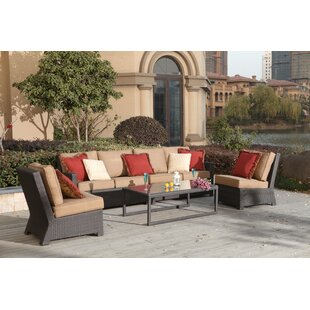 Stockholm 5 Piece Sectional Set with Cushions By Alcott Hill