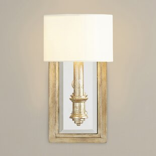 Sconces youll love wayfair clemson 1 light candle wall light mozeypictures Image collections