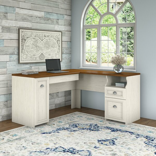 Oakridge L-Shaped Computer Desk by Beachcrest Home