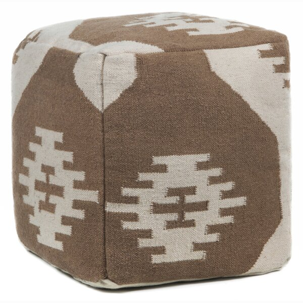 America Textured Pouf by Foundry Select
