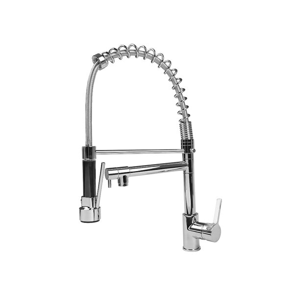 Pull Out Single Handle Kitchen Faucet by Cosmo