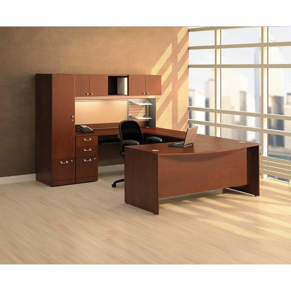 Quantum Bow Desk Office Suite by Bush Business Furniture
