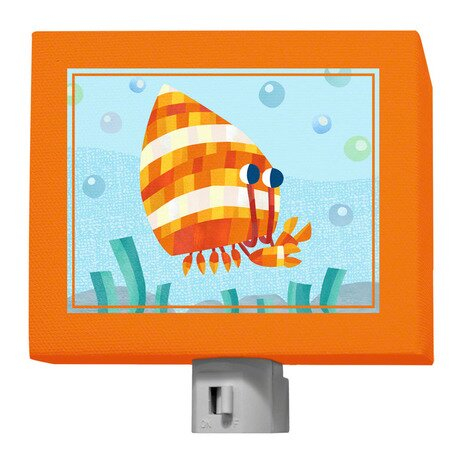 Marine Munchkins - Hermit Crab Night Light by Oopsy Daisy