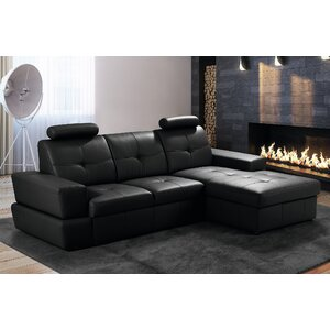 Ecksofa Nancy mit Bettfunktion von Home Loft Con..