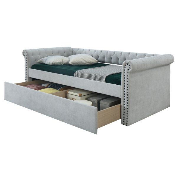 Vaillancourt Twin Daybed with Trundle by Red Barrel Studio Red Barrel Studio