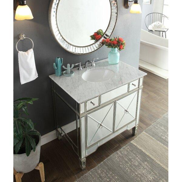 Sandstrom 36 Single Bathroom Vanity Set with Mirror