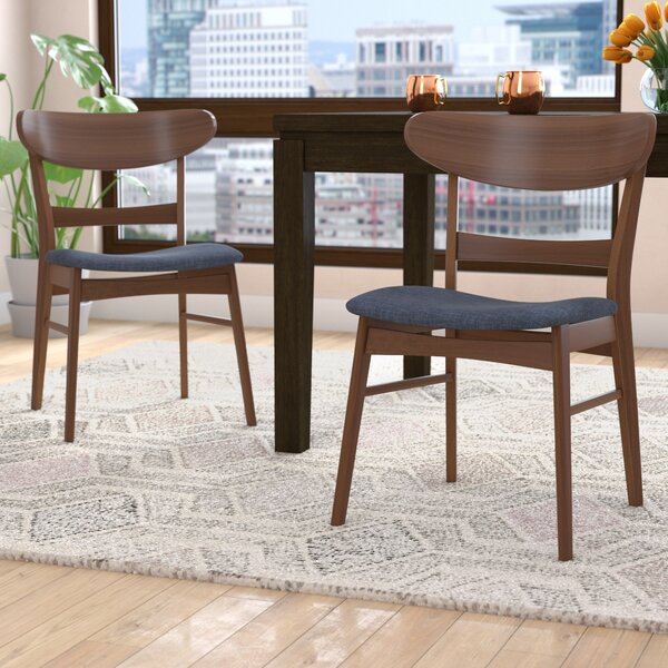 Flavius Solid Wood Dining Chair (Set of 2) by Langley Street