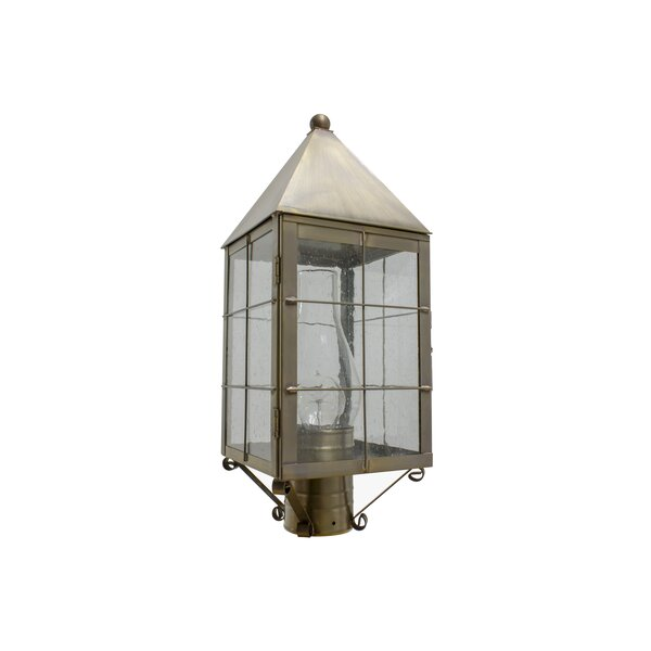 1-Light Lantern Head by Brass Traditions