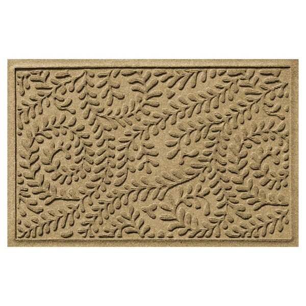 Aqua Gretchen Boxwood Doormat by Darby Home Co