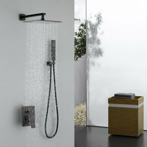 Esben Pressure-Balanced Complete Shower System with Rough-in Valve by MAXWELL MAXWELL