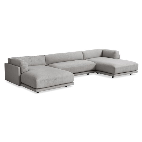 Sunday U-Shaped Sectional Sofa by Blu Dot
