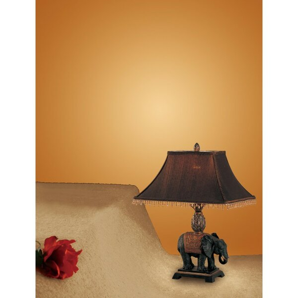 Creeves Elephant 24 Table Lamp (Set of 2) by World Menagerie