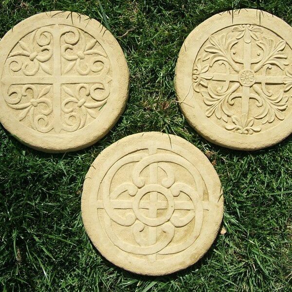 Celtic Stepping Stone Set (Set of 3) by Designer Stone, Inc